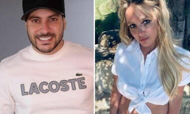 Caio Afiune comemora vitória na tutela de Britney Spears e agita a web