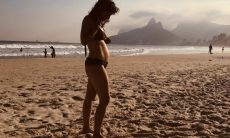 """Georgiana Goés anuncia gravidez: """"Tem vida aqui"""""""