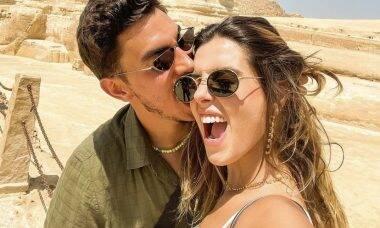 Giovanna Lancellotti assume namoro com Gabriel David nas redes sociais