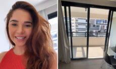 """Gizelly Bicalho mostra novo apartamento em São Paulo: """"Confortável e fofo"""""""