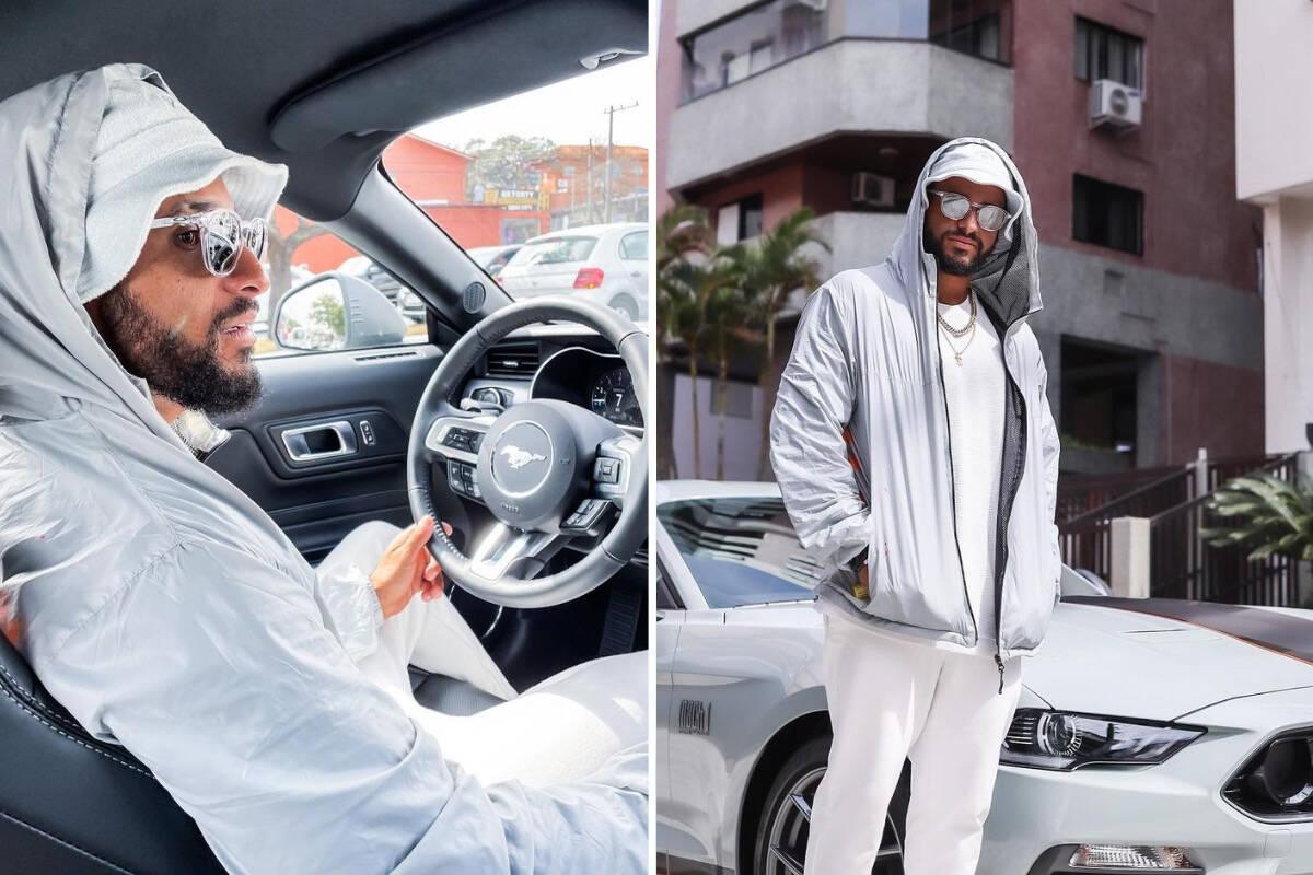 """Italo Ferreira posa com carro de R$ 523 mil: """"Suave na nave"""""""
