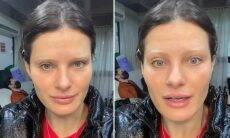 Isabeli Fontana descolore as sobrancelhas e choca os seguidores