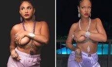 Jéssica Ellen recria foto de Rihanna e deixa fãs babando