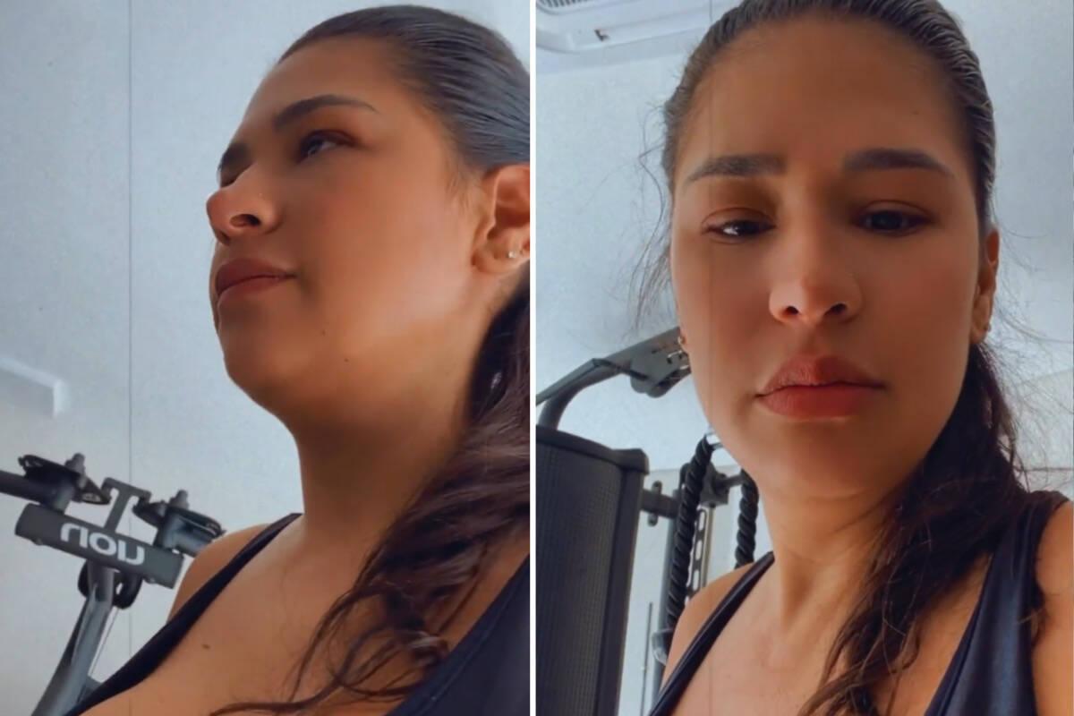 """Simone mostra manhã de treino: """"Segundo dia de luta"""""""