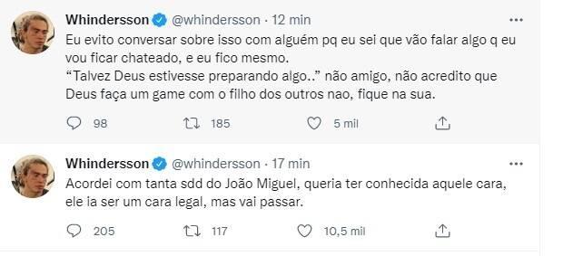 Whindersson relembra o filho e desabafa: 'acordei com tanta saudade' (Foto: Reprodução/Instagram)