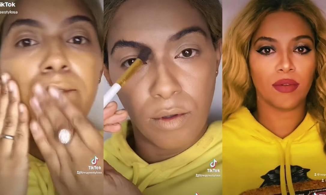 Sósia brasileira da Beyoncé faz sucesso no TikTok e impressiona os fãs (Foto: Reprodução/Instagram)
