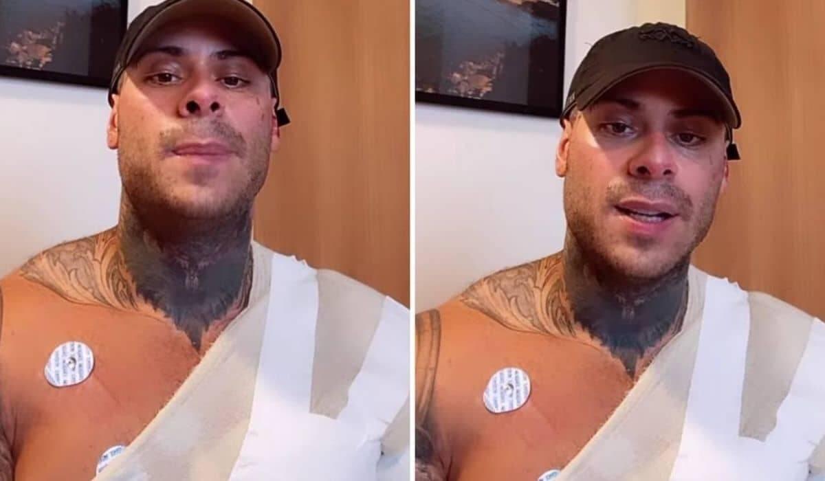 Léo Stronda passa por cirurgias após grave acidente doméstico