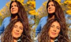 Paula Fernandes homenageia mãe: 'sorte minha ter sua mão pra segurar'