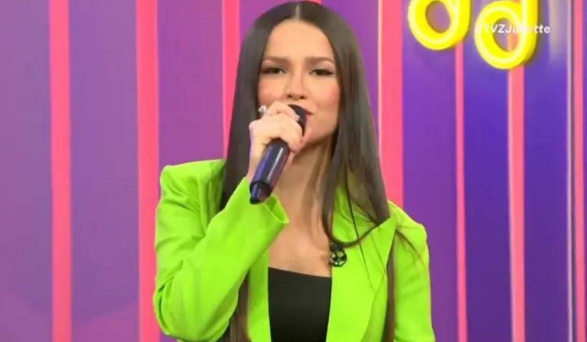 Juliette Freire brinca com autotune durante o TVZ: 'é muito massa'