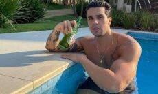 Luan Santana surpreende os fãs ao posar sem camisa: 'monstrão'