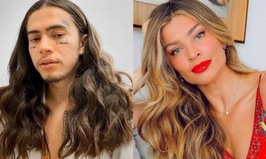 Whindersson Nunes brinca sobre cabelos ondulados: 'Grazi Massafera'