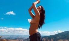 Rede social censura clique de Yanna Lavigne grávida: 'o que é liberdade?'
