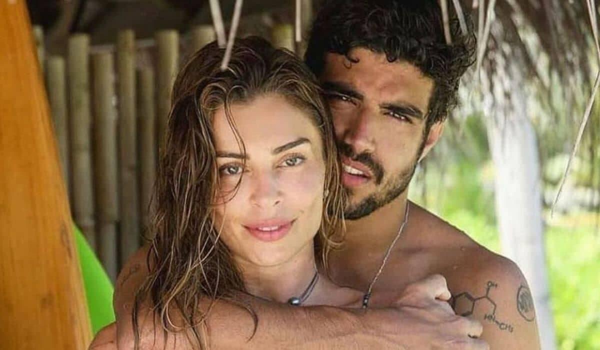Caio Castro posta indireta na web após fim do namoro com Grazi