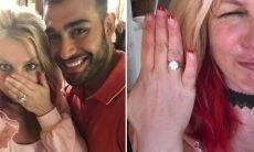 Britney Spears anuncia noivado com Sam Asghari