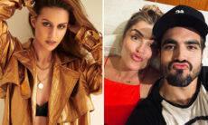 Larissa Bonesi nega que seja pivô da separação de Caio Castro e Grazi Massafera