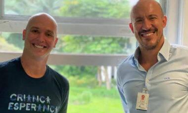 """Caio Ribeiro posta sobre tratamento contra câncer: """"Foco na cura"""""""