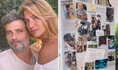 Giovanna Ewbank mostra geladeira de Bruno Gagliasso cheia de fotos da família
