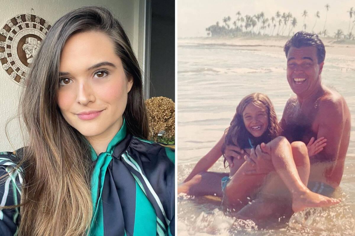 """Juliana Paiva relembra morte do pai: """"Minha maior saudade"""""""