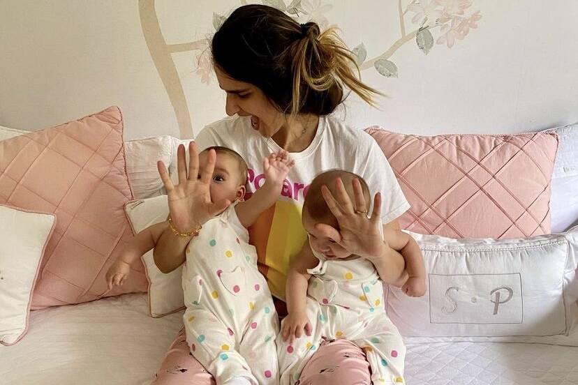 Marcella Fogaça diz que vai ensinar sororidade para as filhas