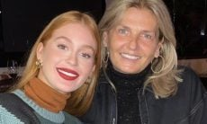 Marina Ruy Barbosa celebra aniversário da sogra, mãe de Guilherme Mussi