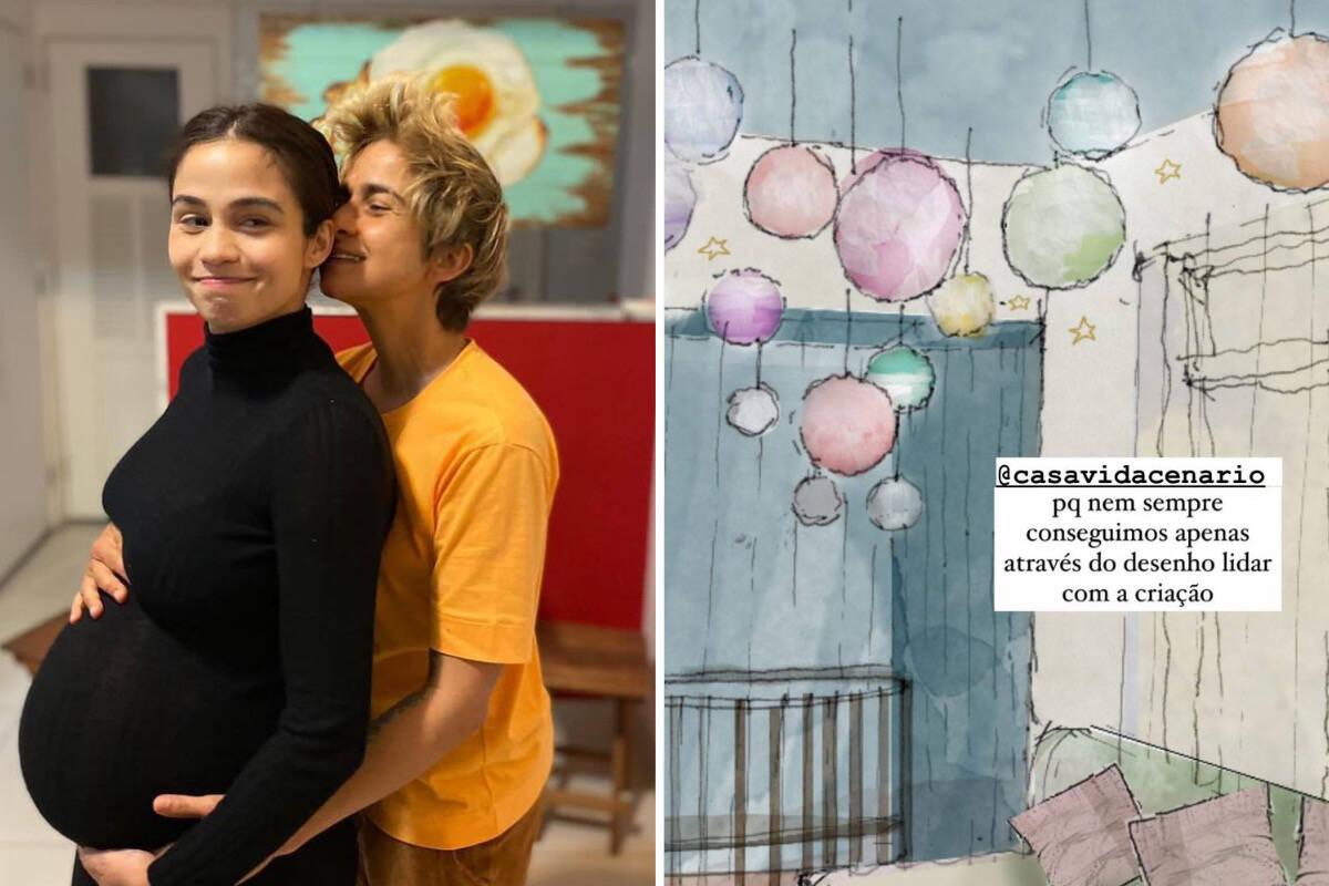Nanda Costa e Lan Lahn mostram projeto para o quartinho das gêmeas
