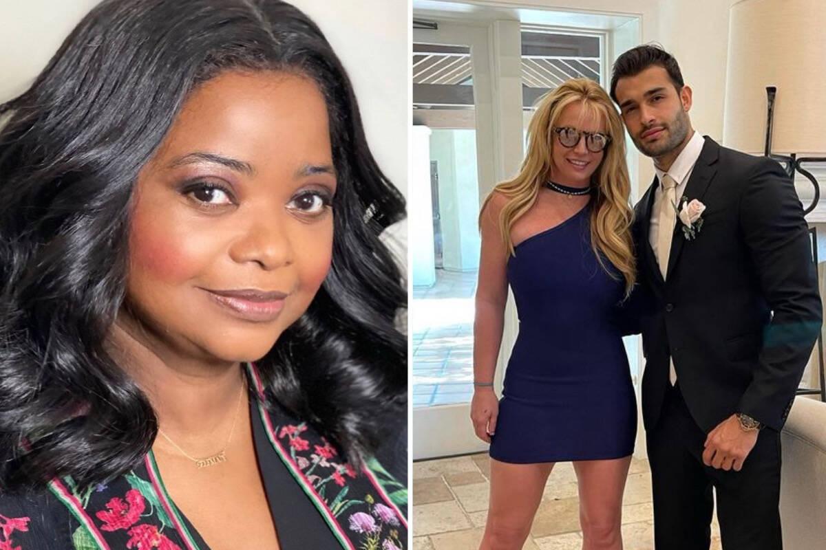 Octavia Spencer pede desculpas por brincadeira após anúncio de noivado de Britney Spears