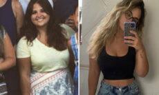 """Filha de Cristiana Oliveira desabafa após perder 32 kg: """"Muito choro, frustração e culpa"""""""