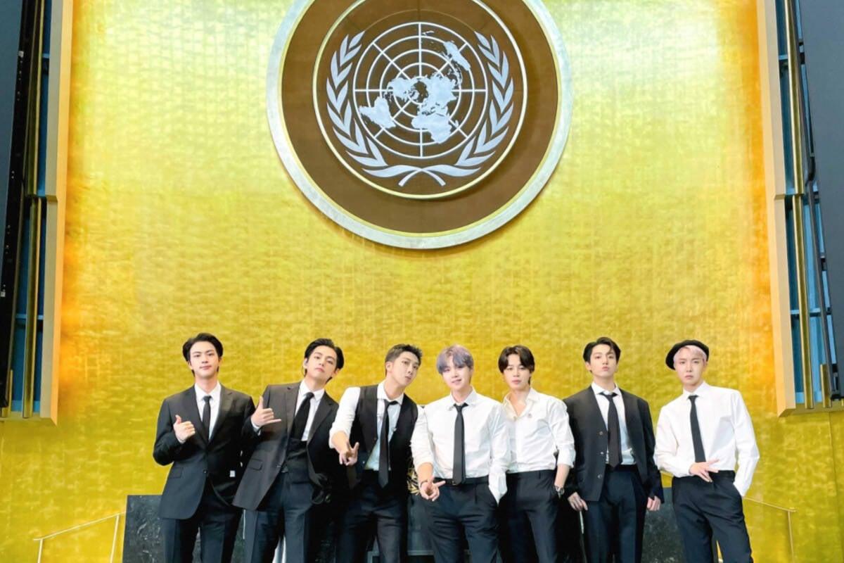 BTS manda mensagem de esperança em discurso na ONU